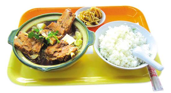 排骨米饭加盟